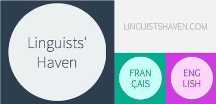 Visit my blog for cool things to read on linguistics, translation, technology and business! www.linguistshaven.com