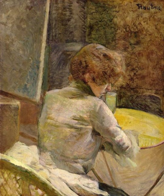 Waiting at Grenelle, Henri de Toulouse-Lautrec