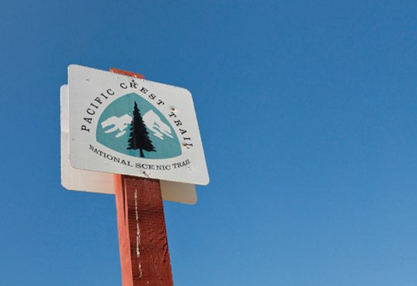 12 Stops Along the Pacific Crest Trail // A photo slideshow from oprah.comPacific Crest Trail marker