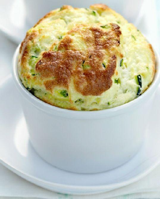 Vegetarian Gluten Free and Low FODMAP Recipe -  Zucchini soufflé
