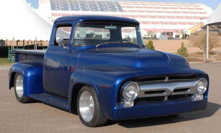 Custom 1956 Ford F-100 Pickup Truck