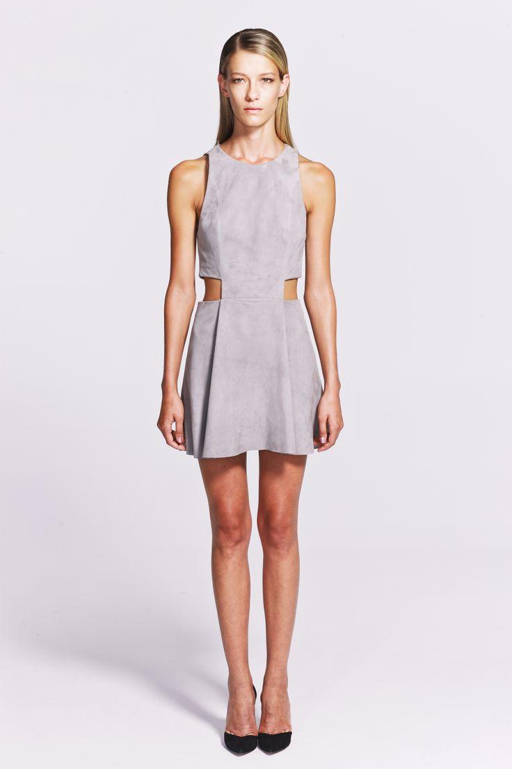 Coraline Suede Mini Dress    https://www.jibeoh.com/product/listing/78/coraline_elbise