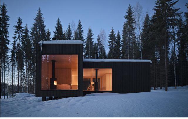 Modern Mökki in Finland