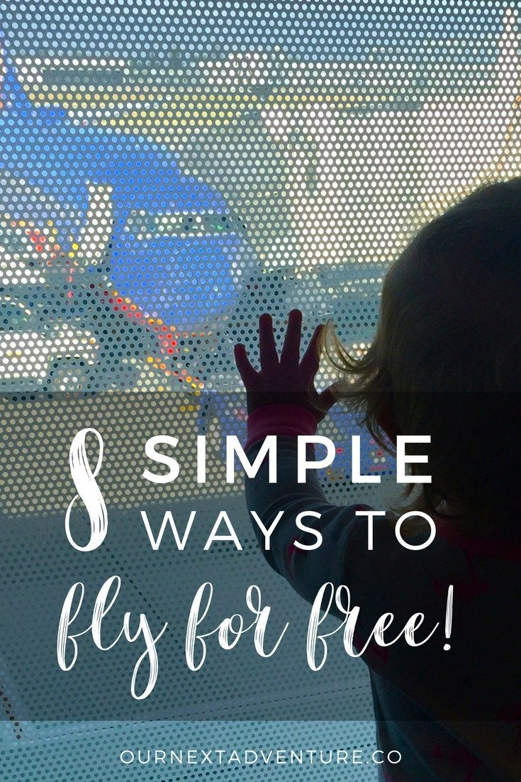 New to travel hacking? Here's 8 extremely simple ways we were able to fly for free for an entire year. #familytravel #budgettravel // Family Travel | Travel with Kids | Family Friendly | Travel Hacking | Budget Travel | Cheap Flights | Free Flights | Best Travel Credit Cards | How to Use Points | Airline Miles | Points for Travel