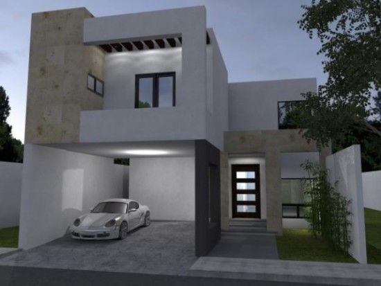 Las 25 mejores ideas sobre fachadas para casas peque as - Losetas para fachadas ...