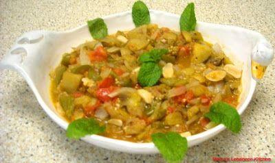 Lebanese Moussaka Recipe – Sauteed Eggplant – Musakka3at Batinjan | Arabic Food Recipes | Bloglovin'