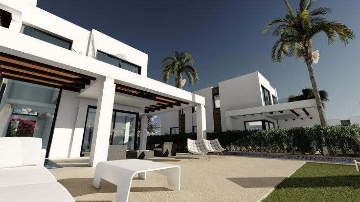 #east #Marbella #villas see http://bablomarbella.com/en/show/sale/25219/new-development-of-contemporary-frontline-golf-villas-in-marbella/