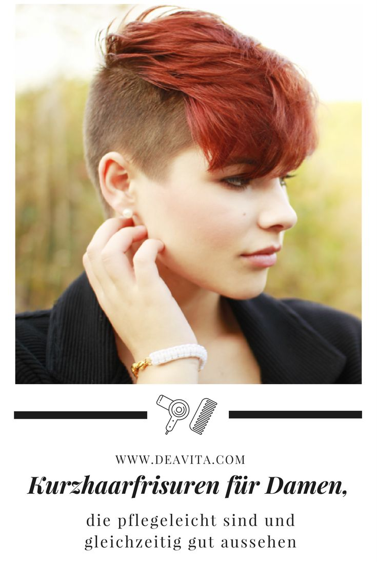 Wir zeigen Ihnen 27 Kurzhaarfrisuren für Damen, die pflegeleicht sind und gleichzeitig gut aussehen. Ob die trendige Pony-Frisur oder doch lieber lockige Haare, ob in einer Naturfarbe wie Schokoladenbraun oder vielleicht mit Strähnen in Blau oder Rosa.