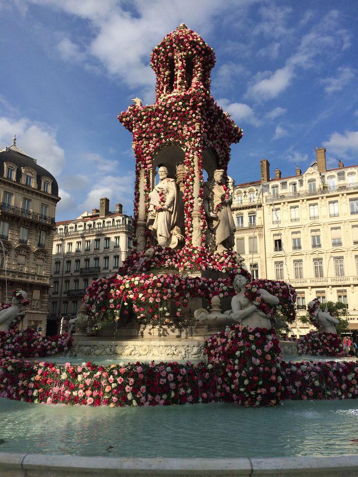 Lyon, la fontaine des Jacobins