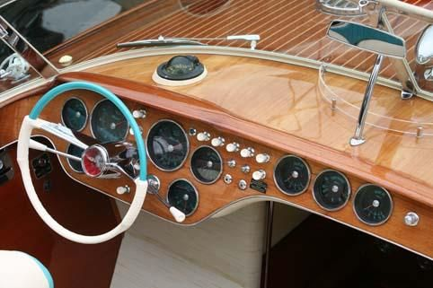 Riva Aquarama helm