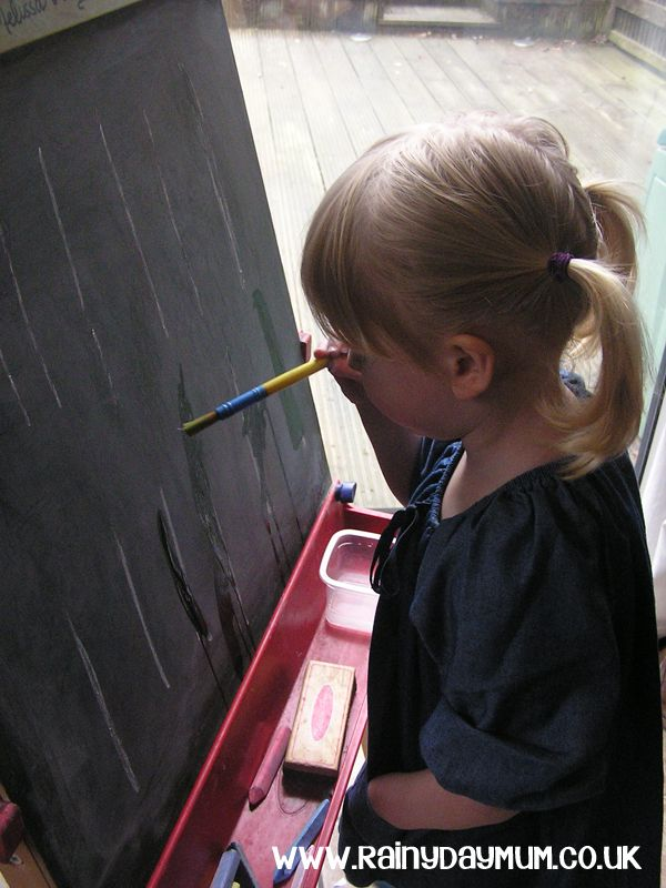 Fine motor skill development - draw and erase great for toddlers to do