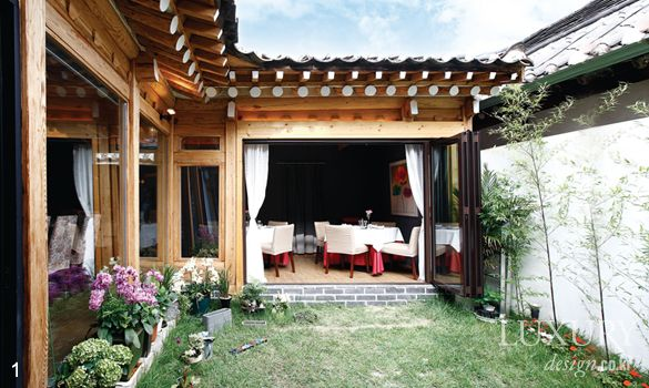 The President LUXURY_ Samcheongdong and turned into one of the restaurants and cafes HANOK DINING Hanok