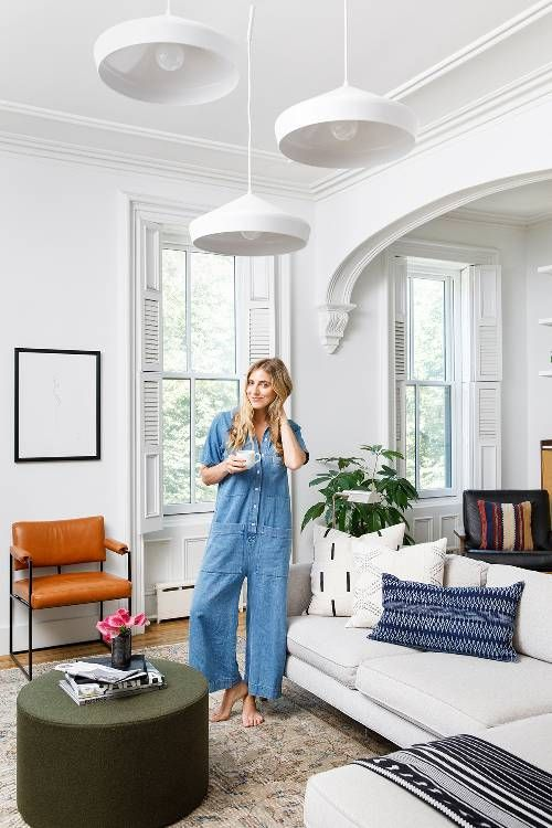 This Is How a Fashion Editor Decorates a Brooklyn Townhouse