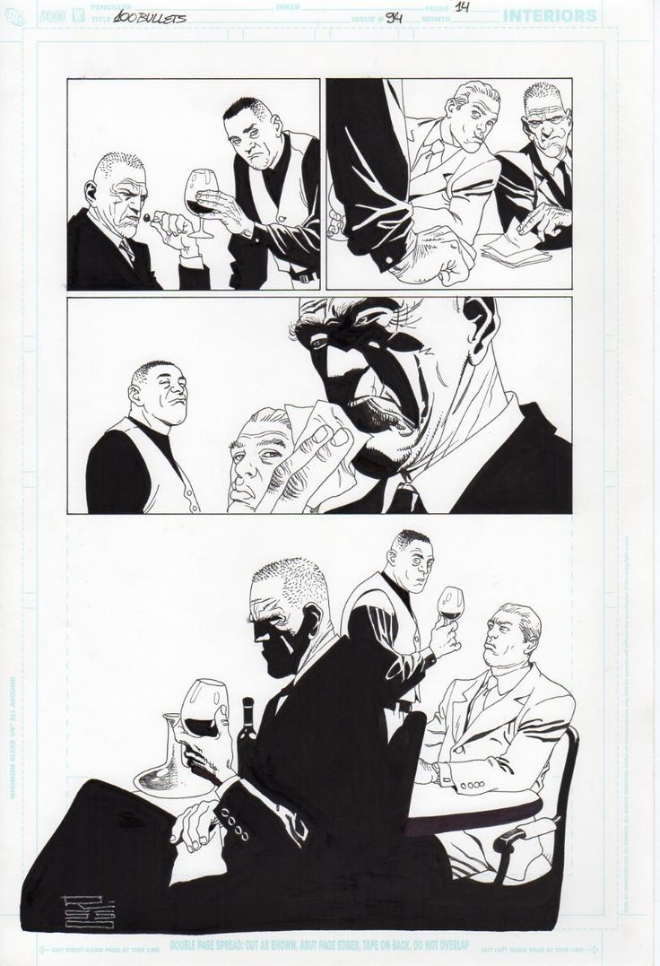 Eduardo Risso 100 Bullets 94 p.14 Comic Art