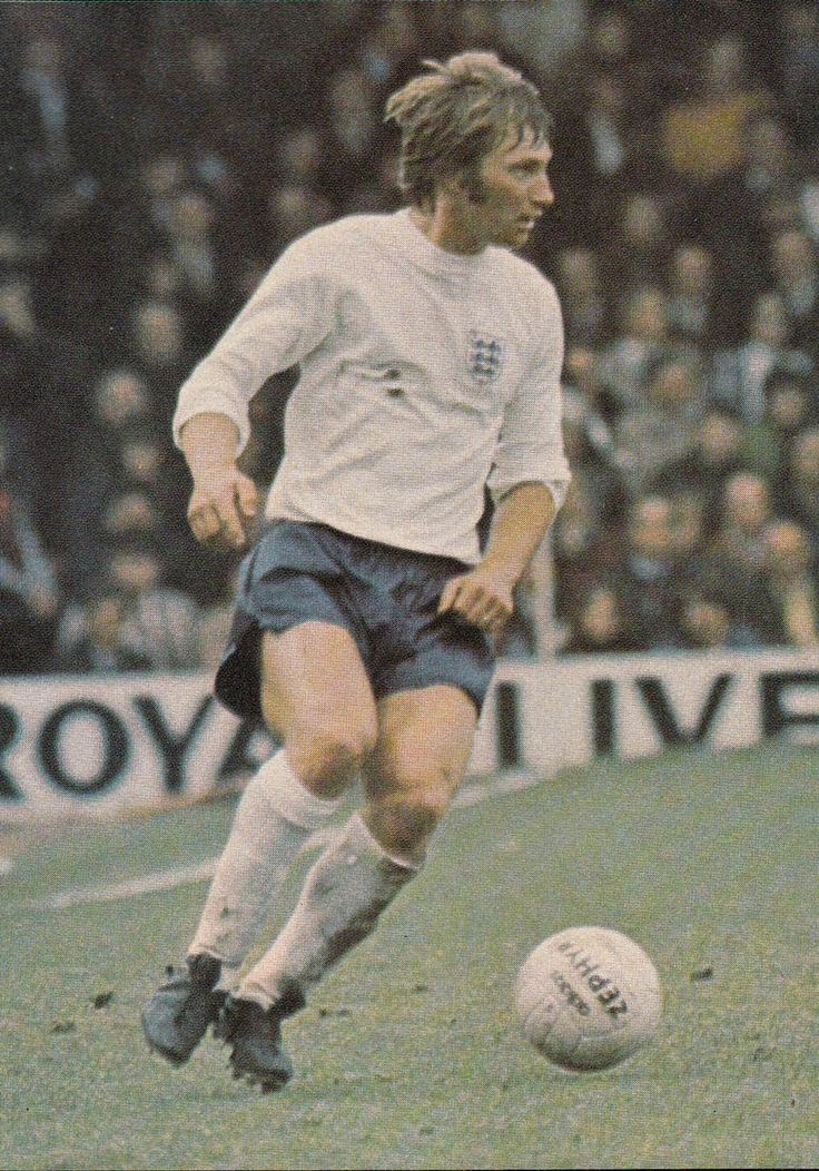11th May 1974. Derby County defender Colin Todd back in England colours following a two year ban for crying off a Under-23 summer tour.