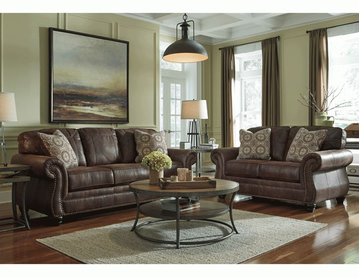 Living room decor on a budget breville sofa by ashley - Ashley furniture living room sets 999 ...