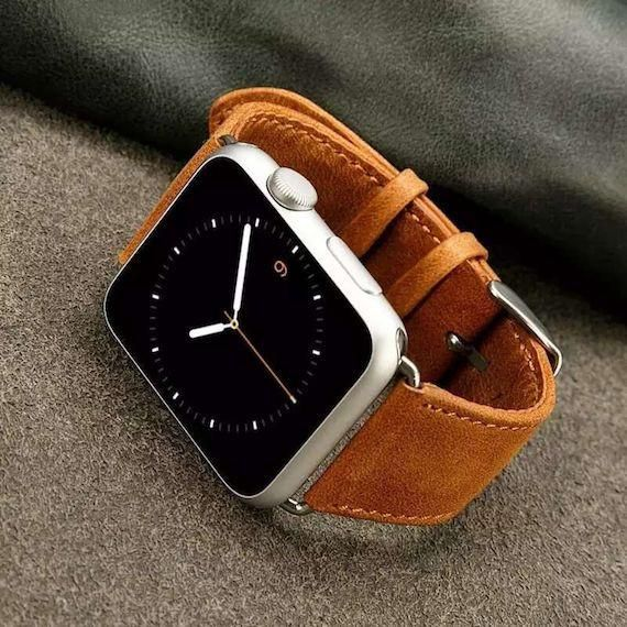 The leather straps will age beautifully over time and are one of the best ways you can make your Apple Watch stand out from the crowd.