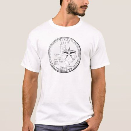 Texas State Quarter T-Shirt - click to get yours right now!