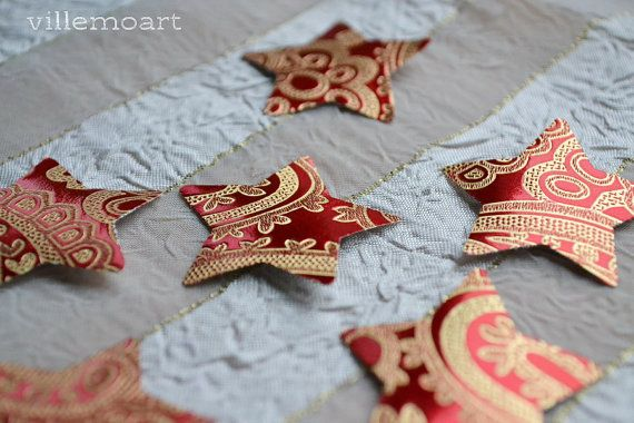 christmas cut scrapbooking stars