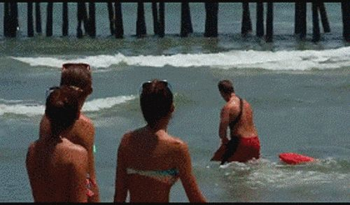 Drag your friends to the beach for the sole purpose of checking out the hot lifeguards. | 12 Naughty Things To Do That Will Make You Feel Nice