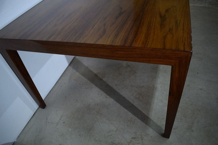 Danish mid century rosewood coffee table, Severin Hansen, made in Denmark