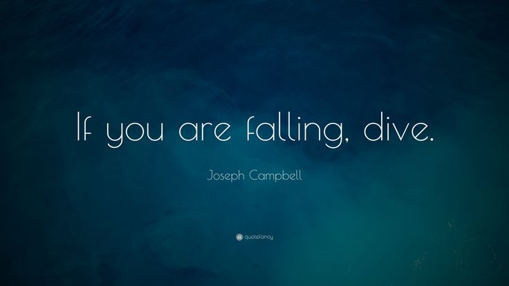 Even if it's an undesirable fall. Controlled falling is better than flailing.