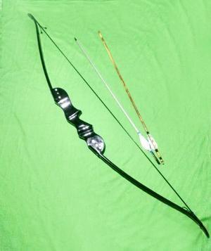 Busur Panah Black Woodern Recurve Tipe a02