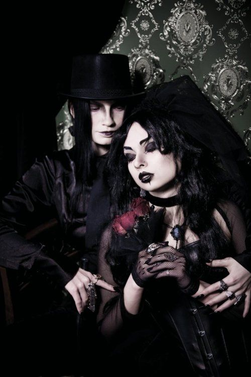 Goth wedding  Keywords: #weddings #jevelweddingplanning Follow Us: www.jevelweddingplanning.com  www.facebook.com/jevelweddingplanning/