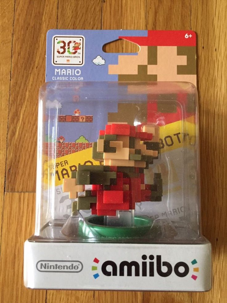 Super Mario 8-bit Classic Color 30th Anniversary Nintendo Amiibo New SEALED   Video Games & Consoles, Video Game Accessories, Toys to Life   eBay!