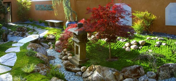Dry creek bed: Gardens Ideas, Grace Design, Japanese Gardens, Design Association, Asian Landscape, Gardens Design, Margi Grace, Japan Gardens, Asian Gardens