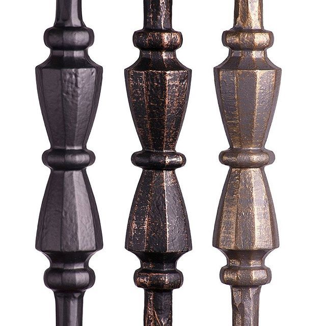 Close up Faux Finished Balusters by House of Forgings  #iron #staircase #stairs #detail #paint #painting #art #artwork #home #house #design #style #architecturelovers #archilovers #architecture #inspiration #photo #photography #modern #bronze #insta #instagram #instadaily #photography #photooftheday #modern #contemporary #instamood #interiordesign #interior