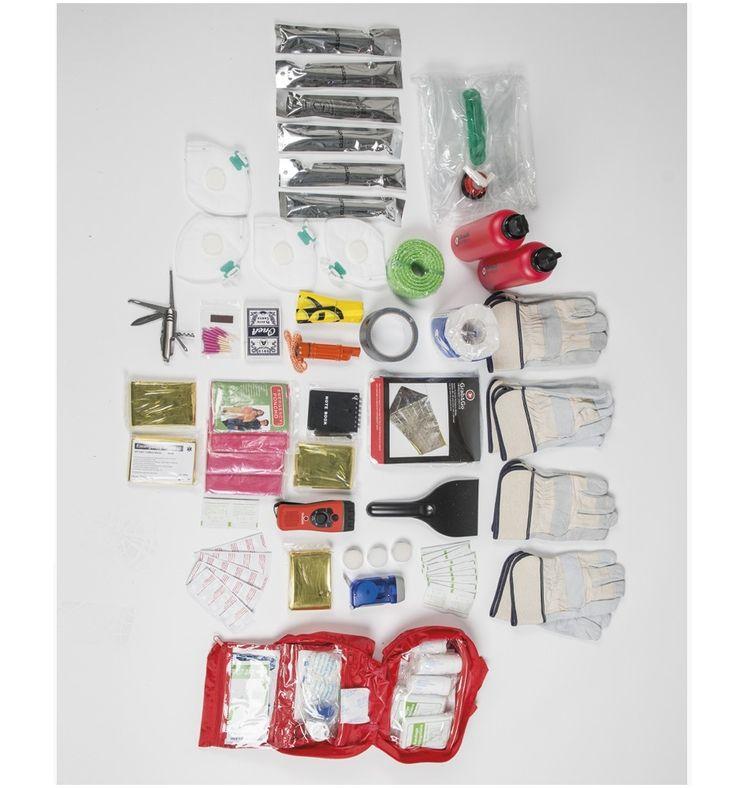 GRAB&GO™ Emergency Kit 4 Personen / mehr Infos auf: www.Guntia-Militaria-Shop.de