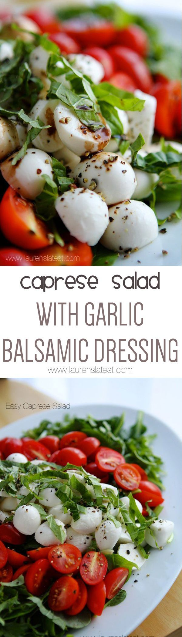 Because you'll be making this salad for the rest of forever.... you'll love it just that much!