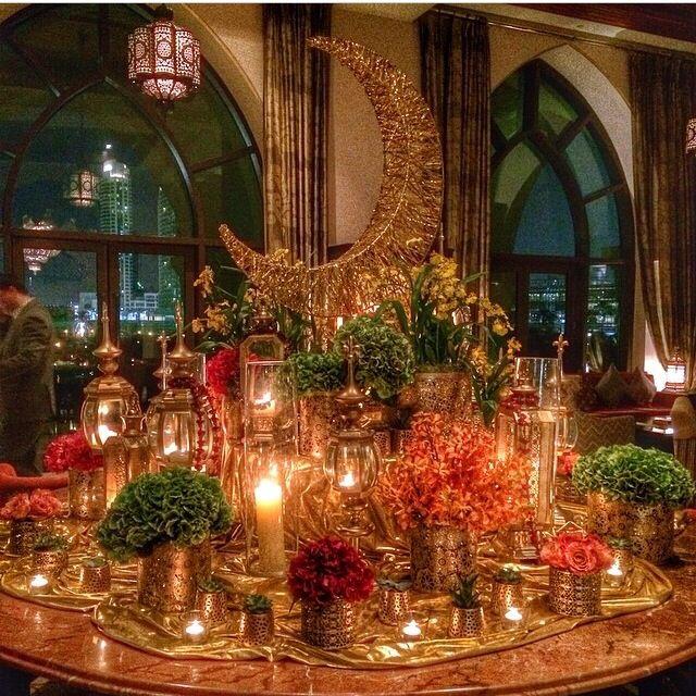 Ramadan table setting