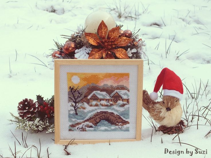 Four Seasons: Winter (Haft gobelinowy)