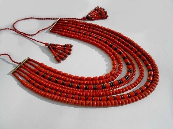 Ukrainian Patriotic Necklace Handmade Clay Pottery Handmade | eBay