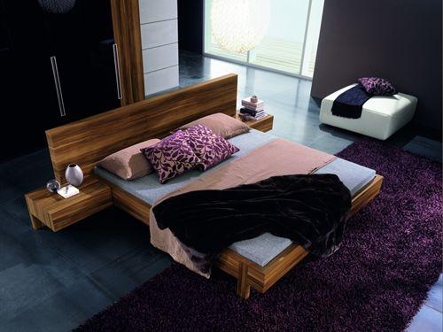marin modern platform bed