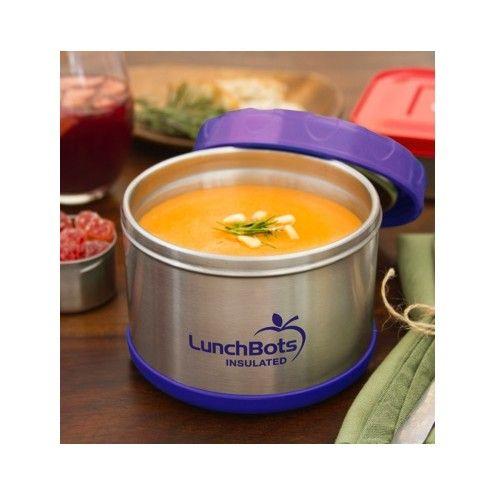 Termos obiadowy LunchBots fioletowy