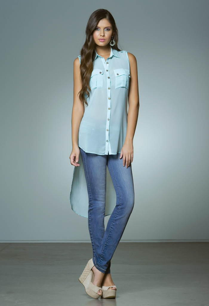 BLUSA S203820 JEANS S049469