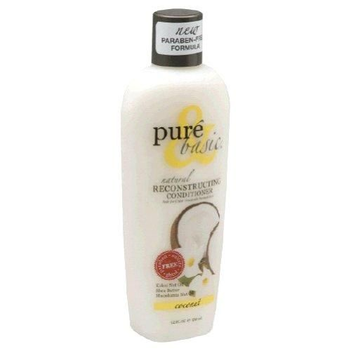 Pure and Basic Reconstructing Coconut Natural Conditioner 12 Fluid Ounce