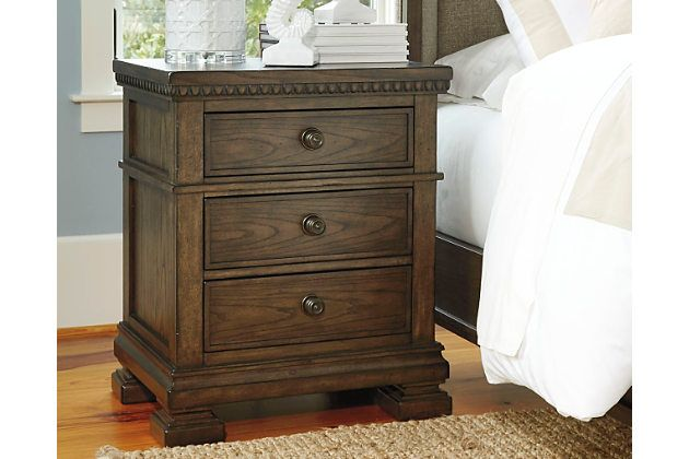 Larrenton Nightstand By Ashley HomeStore, Brown