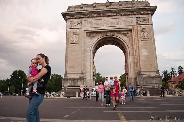 Arcul de Triumf, București by Iulian.Dnistran.ro, via Flickr
