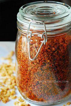 Grandma's Dried Shrimp Sambal (bukan nenek gw ya heu heu)