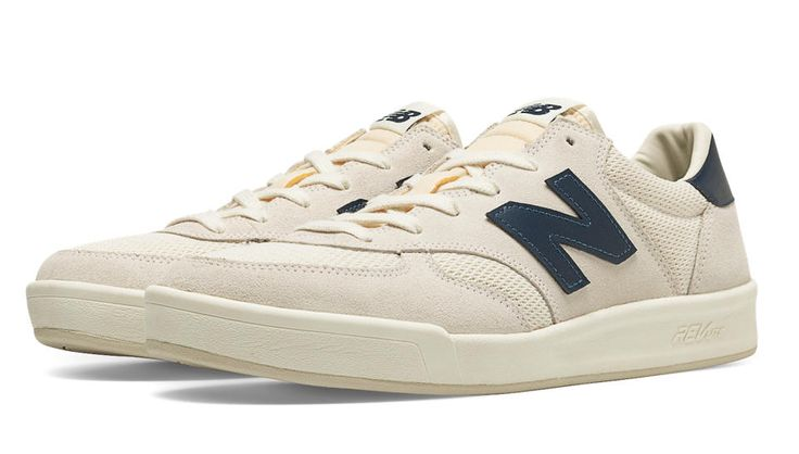 New Balance CRT300 White with navy