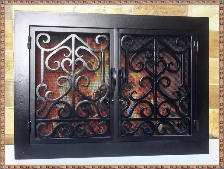 Wrought Iron Fireplace Screens - http://www.joninewman.com/wrought - 25+ Best Ideas About Wrought Iron Fireplace Screen On Pinterest