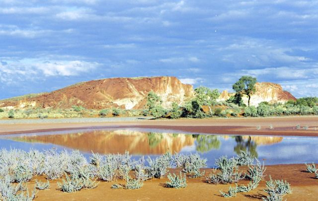 Landscape photography of Northern Territory famous landmarks