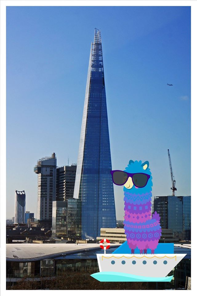 Hello, did you know that The Shard, which is the tallest building in the European Union, opened to the public today for the first time in 2013? Pacca Alpaca went to visit over the weekend - what did you get up to?