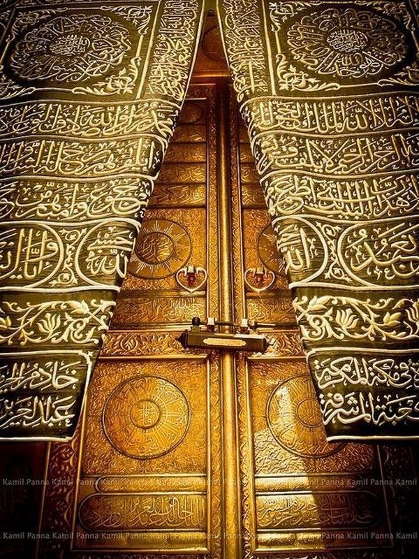 Door of Kaaba (also known as the Sacred House) in Makkah Saudi Arabia.The most sacred site in Islam. & 63 best Makkah Holy City images on Pinterest | Islamic art Islamic ...
