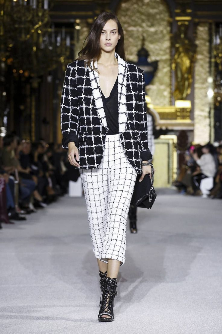 Balmain is generally not for me but how could I resist this number. I'm in heaven! #ss18 #pfw