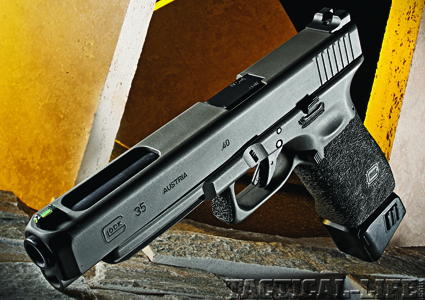 My baby, the 35... now it's gone to a new home and I have a Glock 22